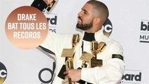 Drake bat le record des Beatles