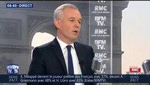 """Nucléaire: """"Ce n'est plus EDF qui fait la politique de l'énergie"""", affirme François de Rugy"""