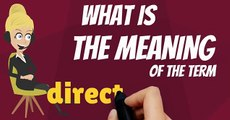 What is DIRECT CURRENT? What does DIRECT CURRENT mean? DIRECT CURRENT meaning & explanation