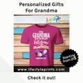Personalized Gift Ideas For Grandma - Gifts For Grandma | Spoken Tokens | Gift Ideas For Grandma