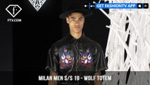 Wolf Totem Tibet Inspired Milan Men Fashion Week Spring/Summer 2019   FashionTV   FTV