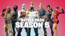 Fortnite Battle Royale - Le Battle Pass Saison 5 disponible