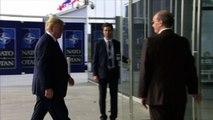 L'arrivo dei leader al summit Nato, si tenta di abbassare i toni