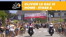 Olivier Le Gac est à la maison / is home - Étape 6 / Stage 6 - Tour de France 2018
