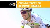 Pichon est heureux d'être à la maison / is happy to be home - Étape 6 / Stage 6 - Tour de France 2018