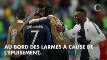 Coupe du monde 2018 : Antoine Griezmann au bord des larmes, les félicitations d'Emmanuel Macron... la folle soirée des Bleus après France-Belgique