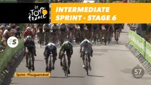 Sprint intermediaire / Intermediate sprint - Étape 6 / Stage 6 - Tour de France 2018