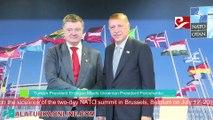 Turkish President Erdogan Meets Ukrainian President Poroshenko
