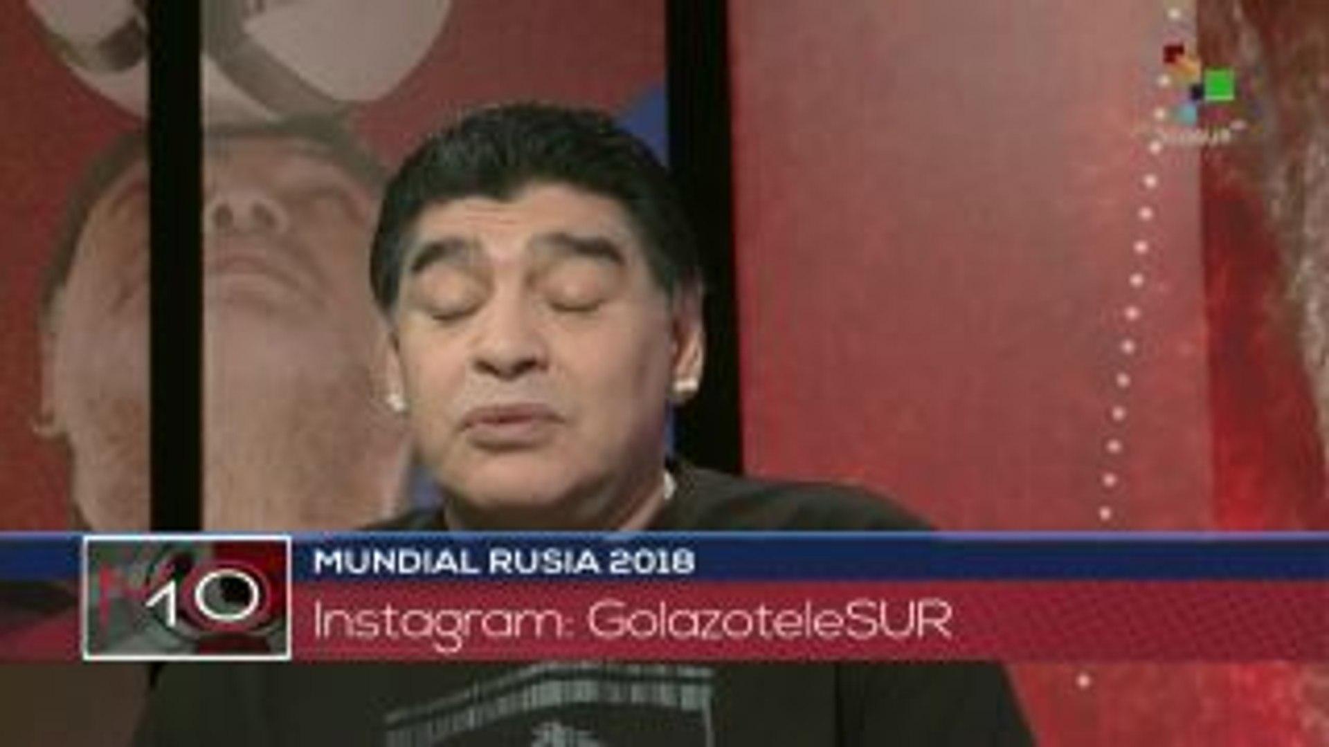 Maradona: Cumplimos 29 días de Mundial, 29 días de alegría
