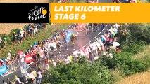 Last kilometer / Flamme rouge - Étape 6 / Stage 6 - Tour de France 2018