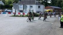 Le Tour de France passe pour la première fois