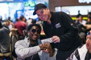 Zynga Poker VIP Player Hugh Grant Stealing the Show at WPT500 Las Vegas - World Poker Tour WPT