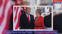 Donald Trump snubs Theresa May for the second time within 48 hours | The G7 Summit