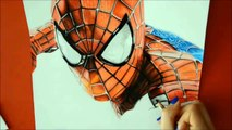 SPIDERMAN DRAWING (Pencils for kids)