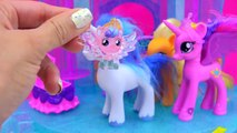 My Little Pony Crystal Empire Castle with Baby Flurry Heart, Princess Cadance, Shining Armor