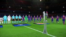 PES new UEFA Champions League Final (Real Madrid vs FC Barcelona Gameplay)