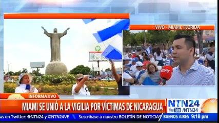 En varias ciudades del mundo oraron por las víctimas de la represión en Nicaragua