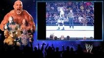 Bill Goldberg vs Dwayne The Rock Johnson - WWE Backlash 2003 Match - WWE Wrestling Fight Fighting Match