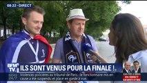 Ces Français ont eu du flair, ils ont acheté leur place pour la finale du Mondial… il y a un an
