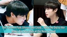 Park Ji Hoon - Wanna One - fanservice