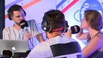 Jauz en interview dans le studio de Fun Radio à l'EMF