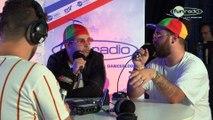 Bellecour dans le studio de Fun Radio à l'EMF