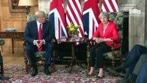 Trump-May görüşmesi - LONDRA
