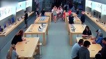 Un Apple Store dévalisé en moins de 30 secondes...