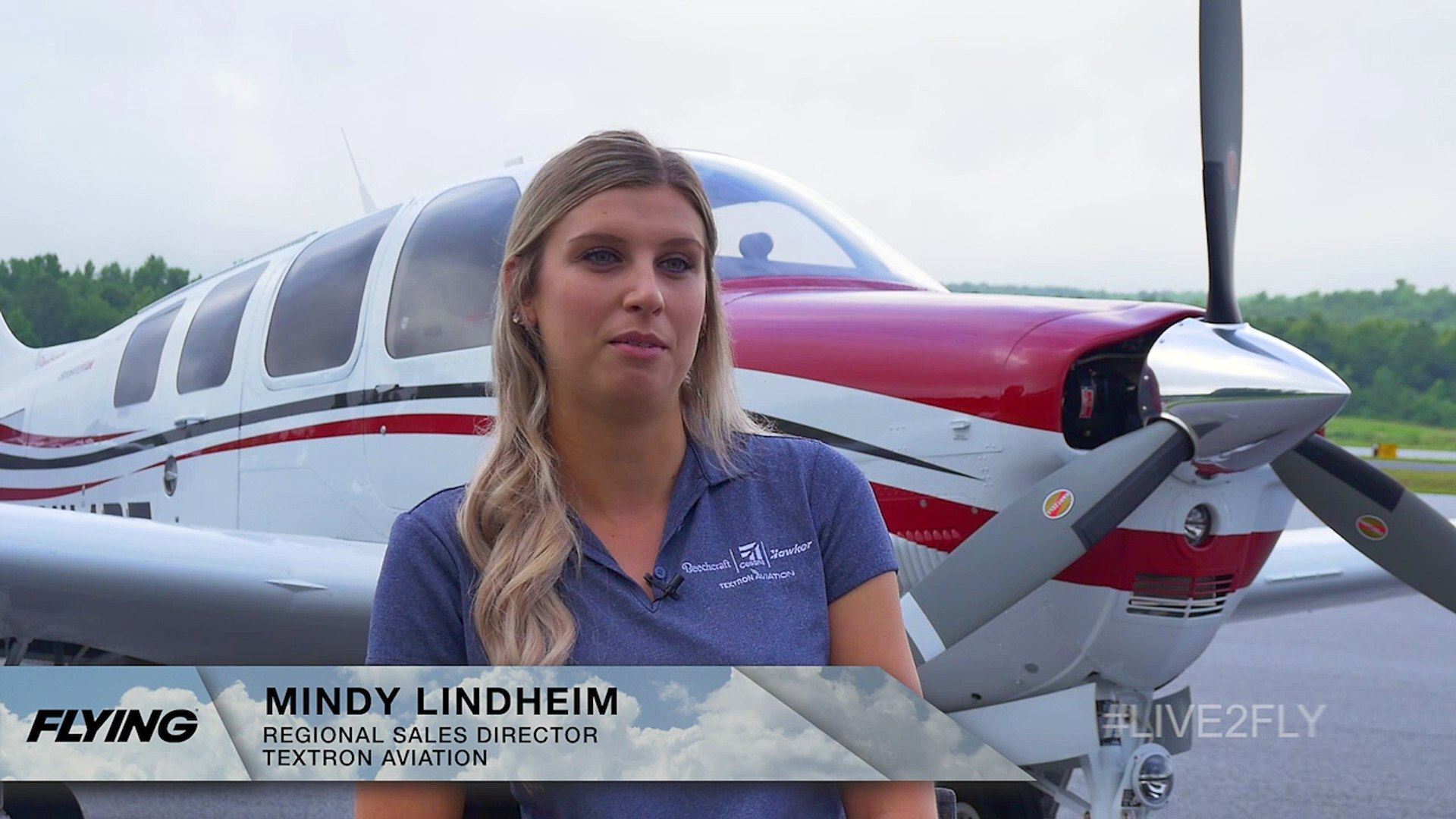 #Live2Series: Mindy Lindheim, Regional Sales Director for Textron Aviation