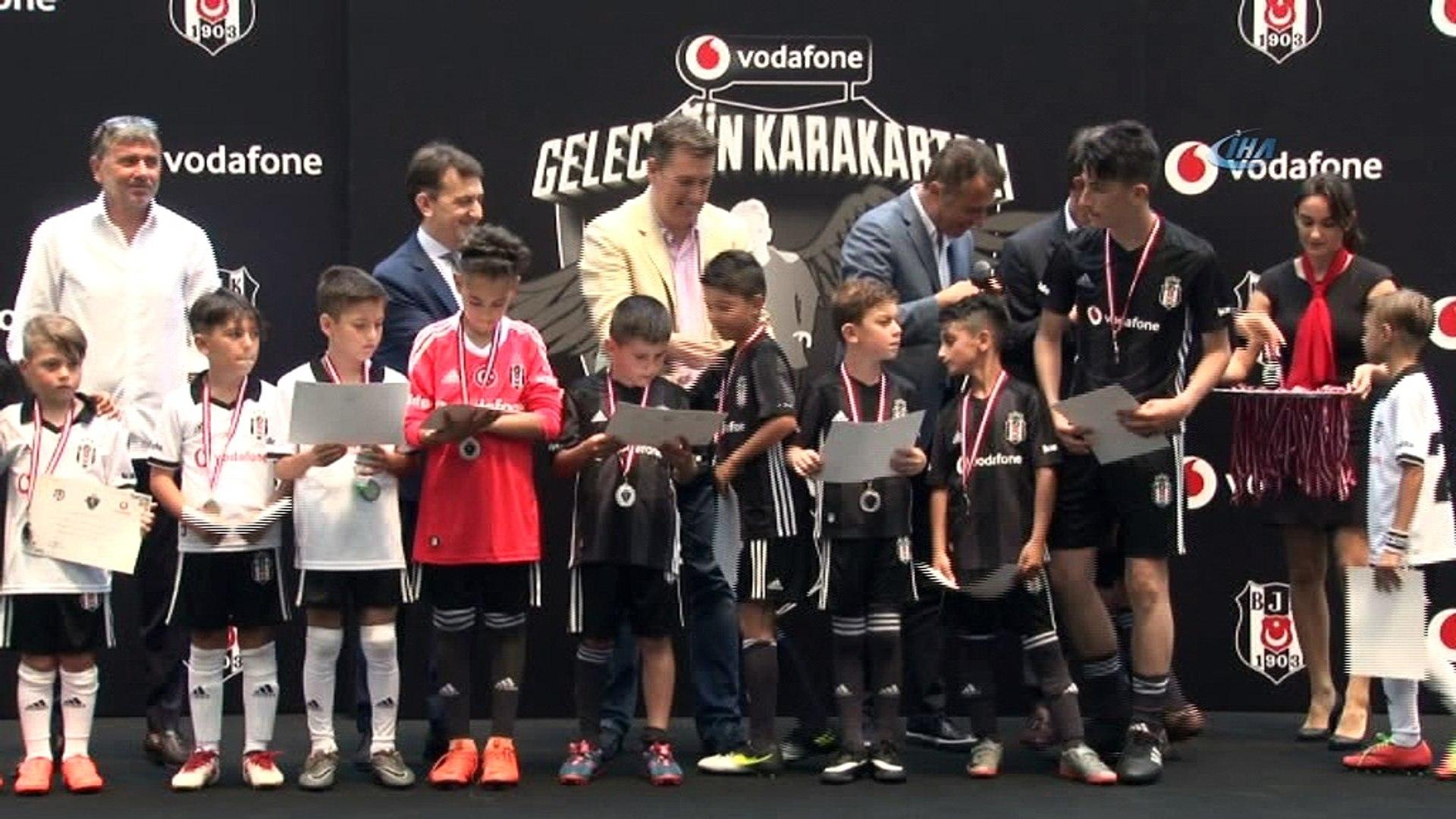 Vodafone Geleceğin KaraKartalı projesiyle Beşiktaş alt yapısına katılacak futbolcular belli oldu -1-