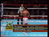 Mike Tyson vs Larry Holmes 22 1 1988 WBC WBA IBF World Heavyweight Championships