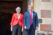 Trump and May to Hold Joint News Conference, Chaos Erupts in Congress, Serena Rolls Into Wimbledon Finals, and More