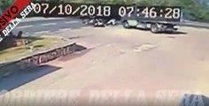 La vidéo impressionnante de l'accident  de George Clooney en Italie