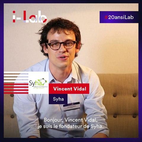 [Les lauréats en boite] Vincent Vidal, fondateur de Syha