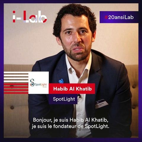 [Les lauréats en boite] Habib Al Khatib, fondateur de Spotlight