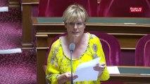 """Patricia Schillinger, sénatrice LREM : """"Le taux de chômage des travailleurs handicapés reste trop élevé, avec un taux de 19%"""""""