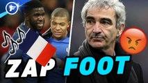 Zap foot : Raymond Domenech se fait courser, le Real zappe déjà CR7