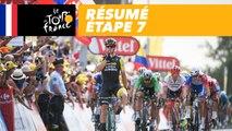 Résumé - Étape 7 - Tour de France 2018