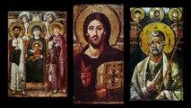 Theotokos mosaic apse Hagia Sophia Istanbul