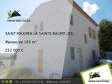 Maison A vendre Saint maximin la sainte baume 103m2 + Jardin 230m2