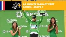 La minute Maillot Vert ŠKODA - Étape 7 - Tour de France 2018