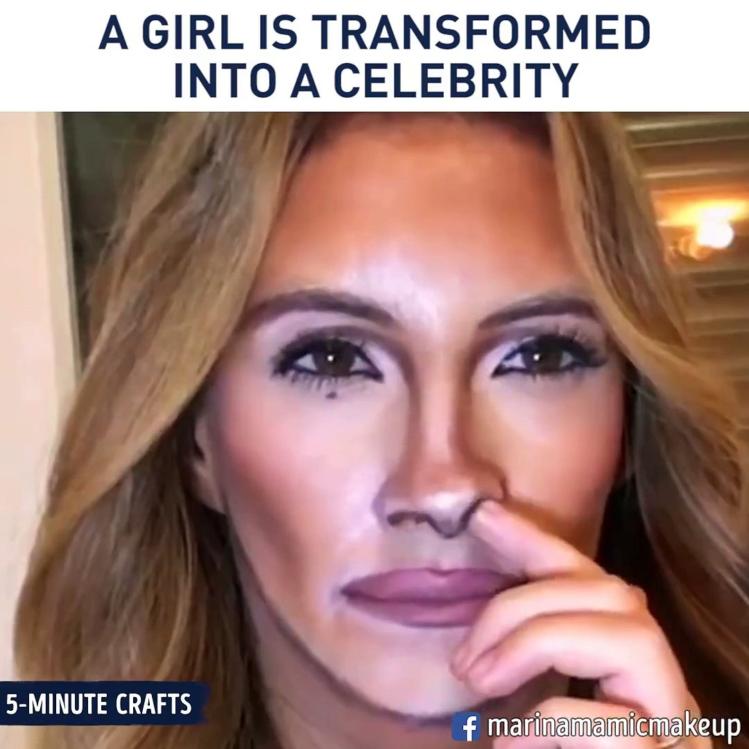 5 Minute Crafts A Girl Is Transformed Into A Celebrity Facebook Video Dailymotion