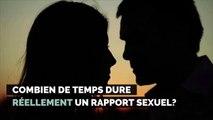 Combien de temps dure réellement un rapport sexuel ?