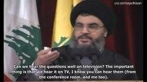 Hezbollah at War (1) : Hassan Nasrallah warns Israel before July 2006 War (Pt. 2)