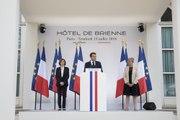 Discours du Président de la République Emmanuel Macron à l'Hôtel de Brienne