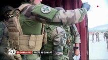 Légionnaires : prêts au combat