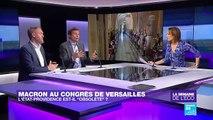 Macron au Congrès à Versailles : l'État-providence est-il obsolète ?