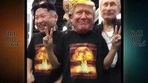 BRAND NEW !!!TRUMP KIM VIDEO !!! Brand new !!! masks of Trump Putin and Kim Jong un