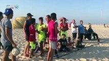 انطلاق فعاليات ترفيهية على شاطئ بئر العبد والعريش بشمال سيناء