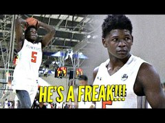 Anthony Edwards is a FREAK Puts On a Clinic For D1 Coaches a